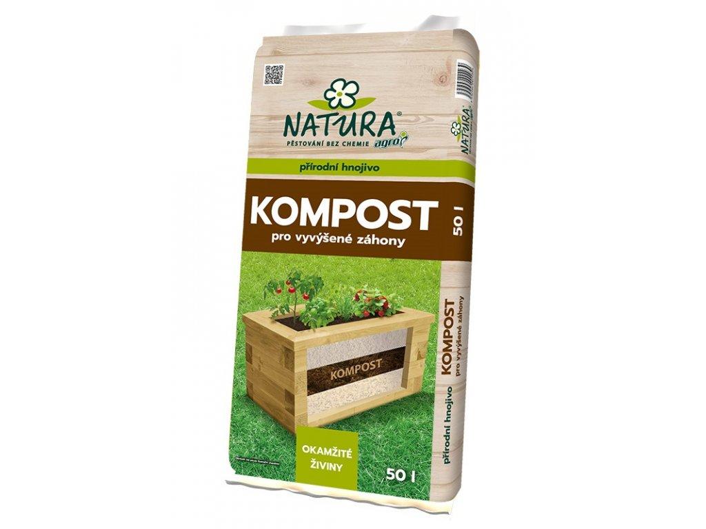 00514A NATURA Kompost pro vyvysene zahony 50l 8592542002939