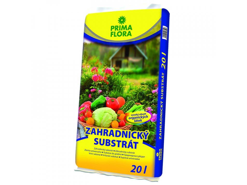 pf substrat zahradnicky 20l