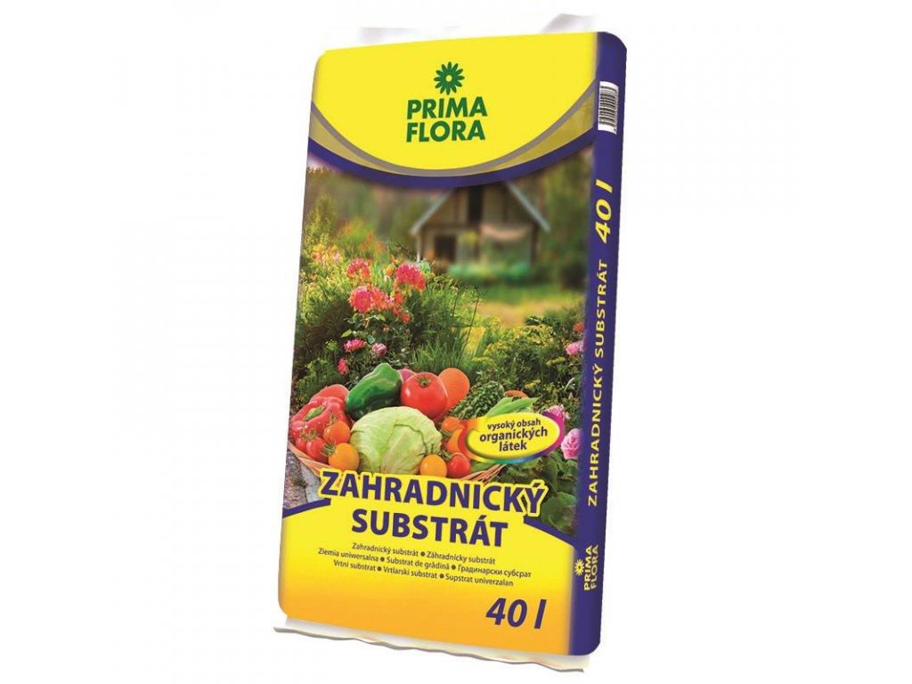 pf substrat zahradnicky 40l