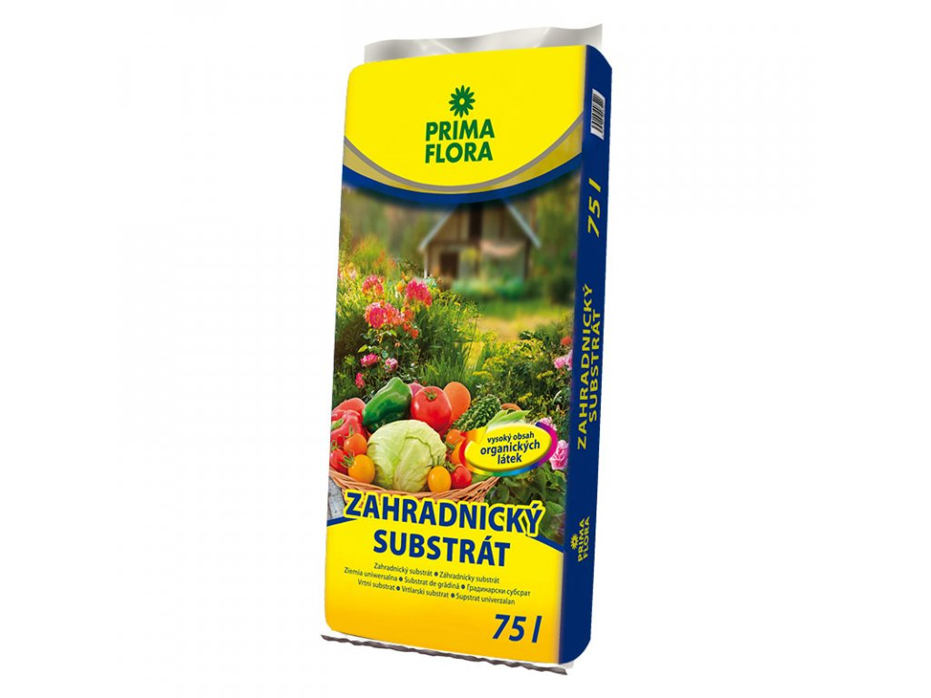 pf substrat zahradnicky 75l