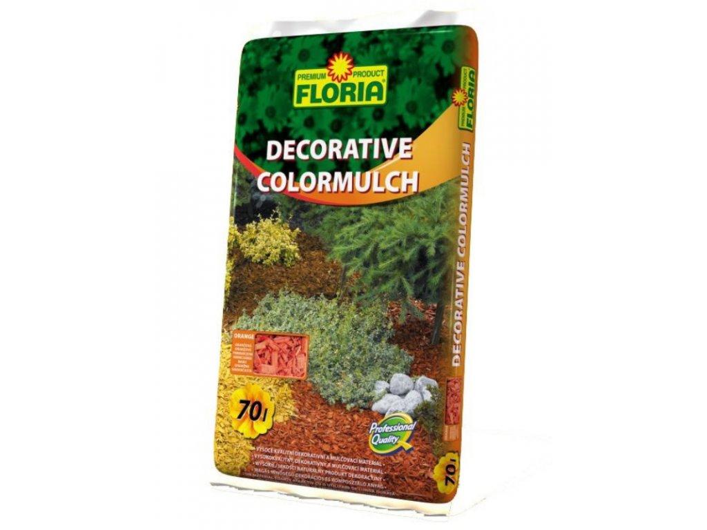 00216A Decorative ColorMulch 70l Oranzova P 8594005007697