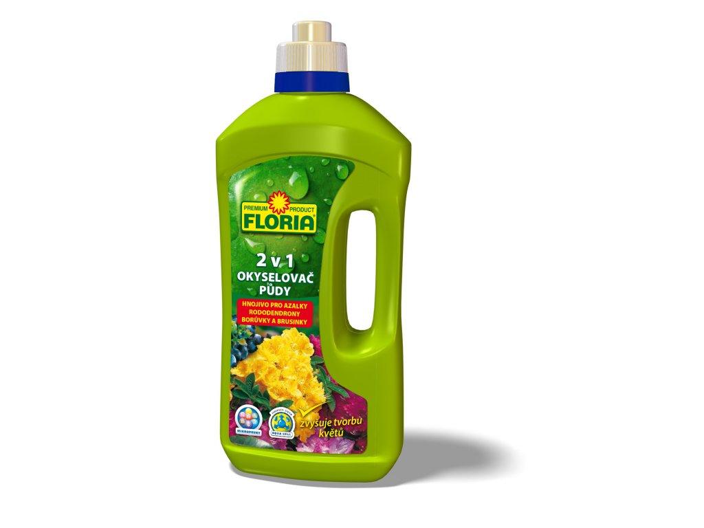 008351 FLORIA Okyselovac půdy hnojivo pro azalky a rododendrony 1l 8594005009738