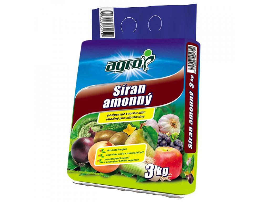 000322 AGRO Siran amonny 3kg 8594005001312