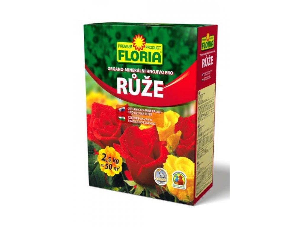 008402 FLORIA OM hnojivo pro ruze 2,5kg P 8594005002593