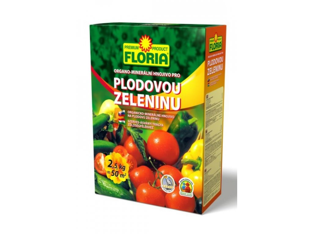 008403 FLORIA OM hnojivo pro zeleninu 2,5kg P 8594005002609