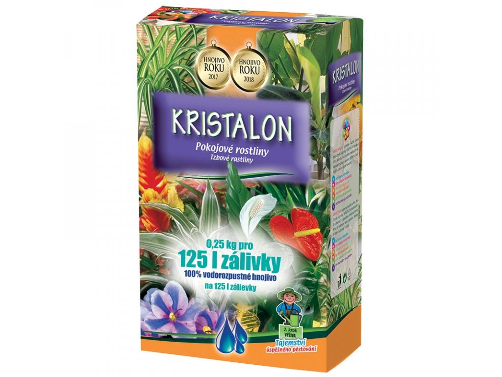 000528 Kristalon Pokojové rostliny 250 g 8594005001589 ESHOP