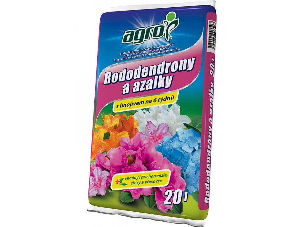 00134A AGRO Substrát Rododendrony a azalky 20l 8594005003507