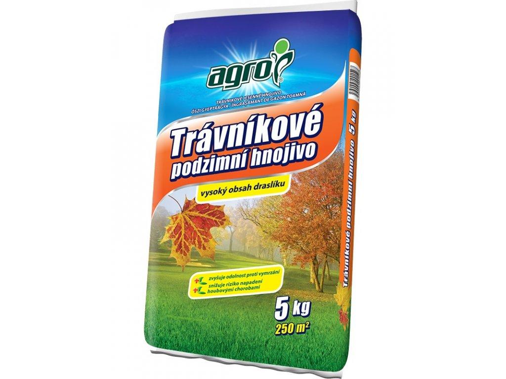 000343 AGRO Travnikove podzimni hnojivo 5kg 8594005001527