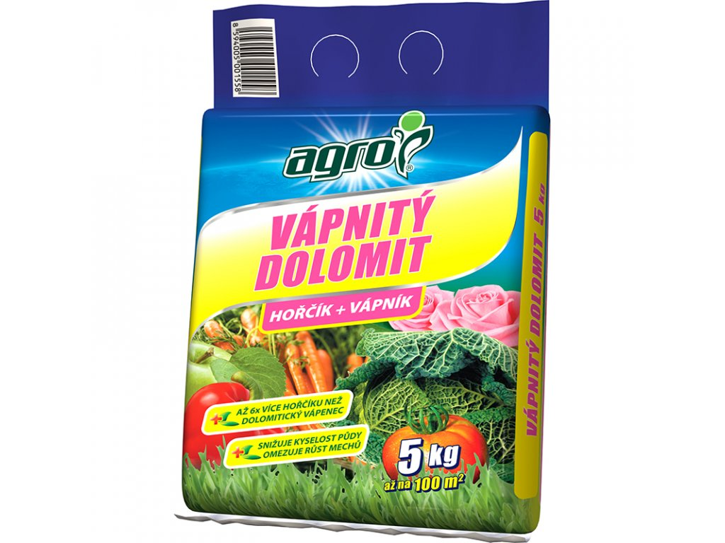000358 AGRO Vapnity dolomit 5kg 8594005001558 – kopie