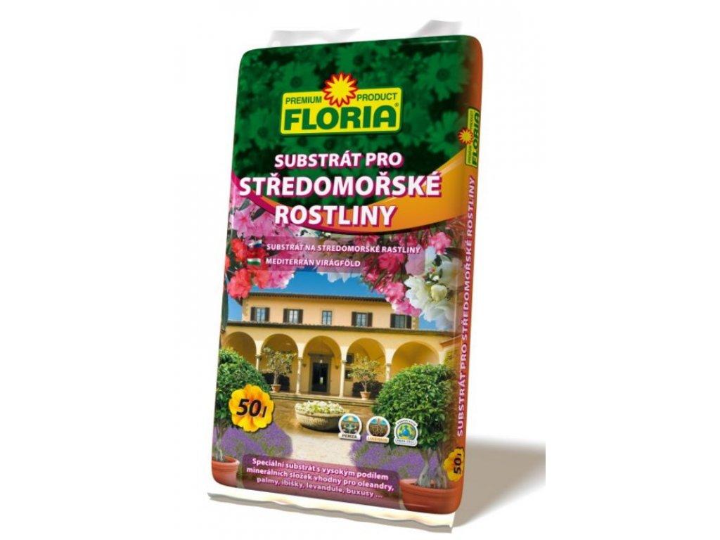 00820A FLORIA Substrat pro Stredomorske rostliny 50l P