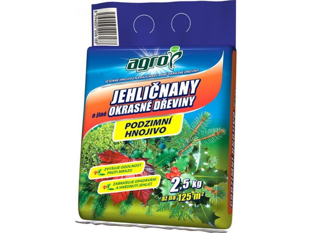 000329 Podzimni hnojivo pro jehlicnany 2,5 kg 8594005006188