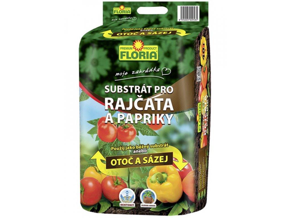 00823A FLORIA Substrat pro rajcata papriky 40l 8594005009585