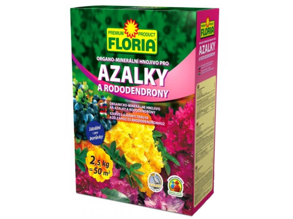 008405 FLORIA OM hnojivo pro azalky 2,5kg P 8594005002647