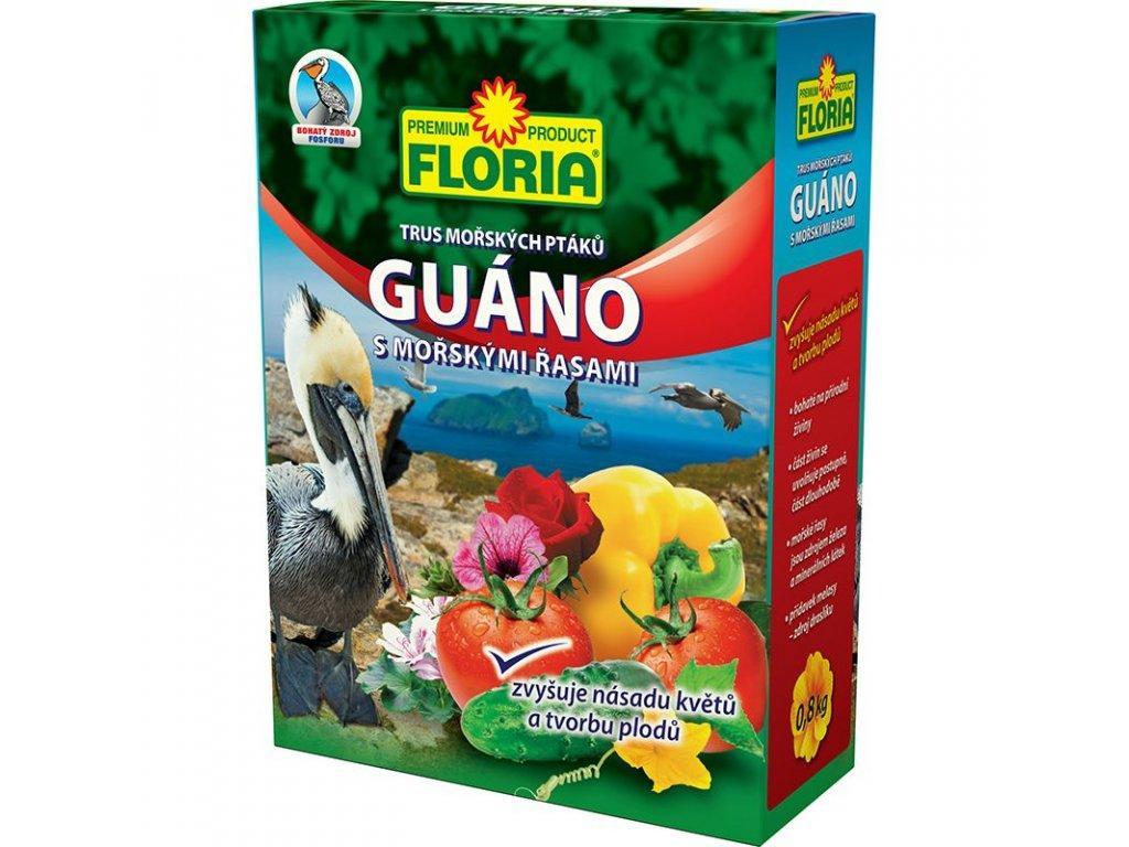 008409 FLORIA Guano s morskymi rasami 0,8kg 8594005009363