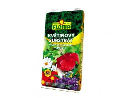 00807A FLORIA Kvetinovy substrat 50l P 8594005002104