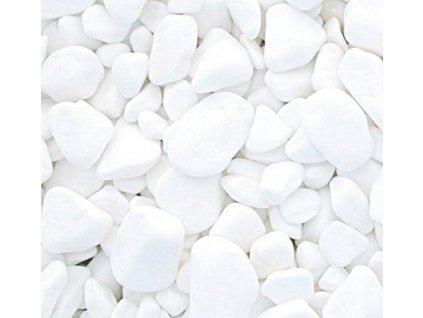 oblázky bílé