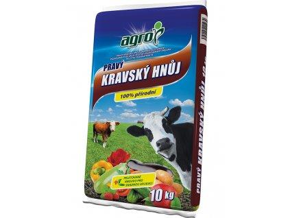 000771 AGRO Pravy kravsky hnuj 10kg 8594005001930
