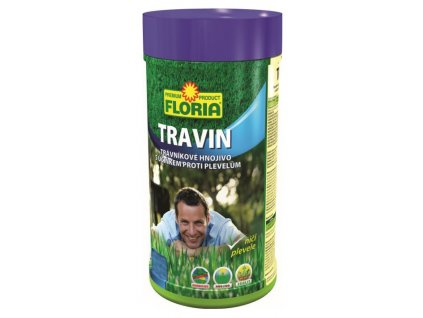 017087 FLORIA Travnikove hnojivo s ucinkem proti plevelum TRAVIN 0,8 kg 8594028310019