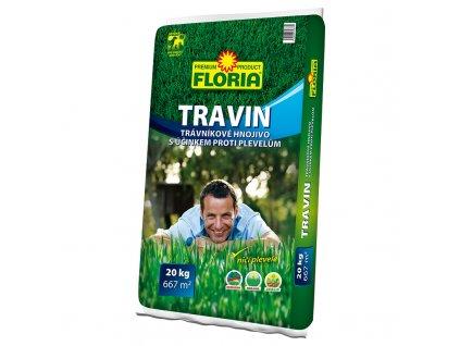 017190 FLORIA TRAVIN Travnikove hnojivo s ucinkem proti plevelum 20kg 8594028313379