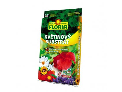 00806A FLORIA Kvetinovy substrat 20l P 8594005002098