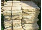 šlapáky z pískovce