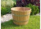 Venkovní květináč dubový - vědro bednářské pr.500x430