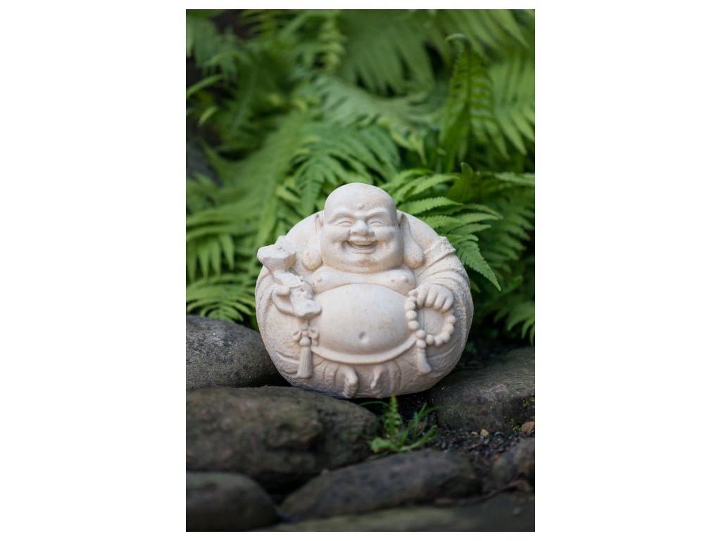 zahradní sochy a dekorace, Buddha kulatý 7,5 kg  T
