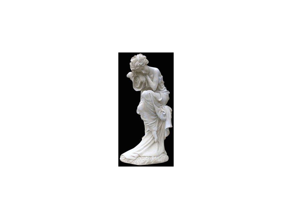 1064 zahradni sochy a dekorace zena na parezu 6 3 kg j