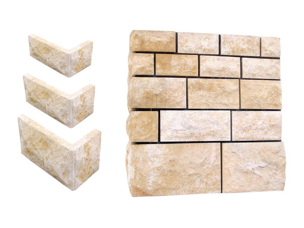 fasádní a stavební prvky, Obklady 12x24cm   50-60kg  T
