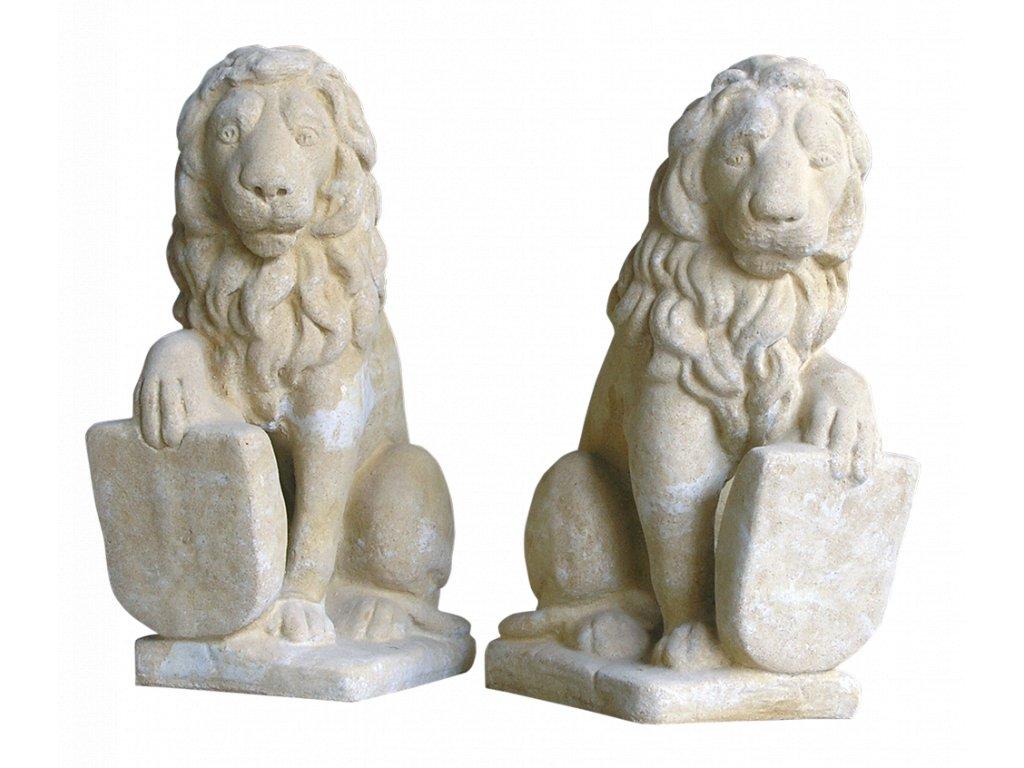 sochy zvířat, Lev 12kg  T