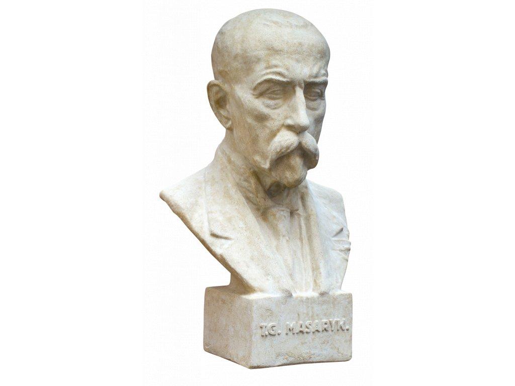 zahradní sochy, T.G.Masaryk 19 kg T