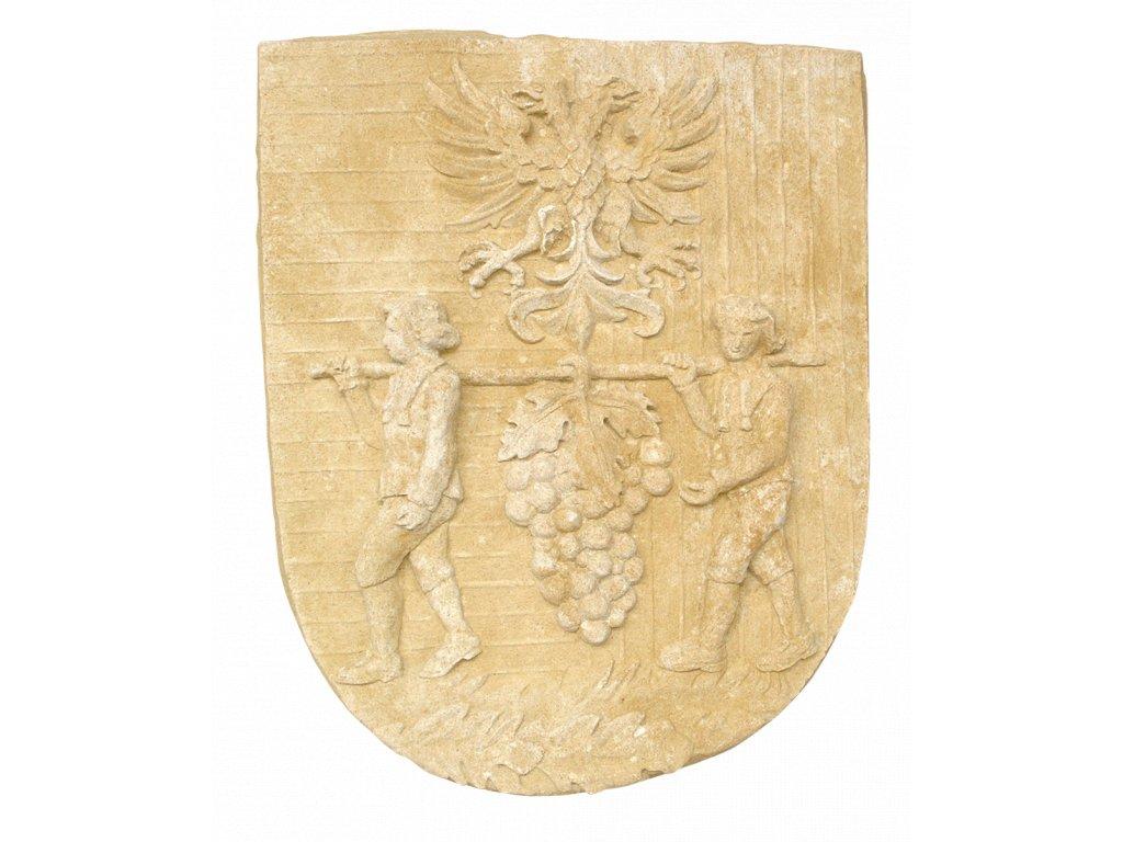zahradní sochy a dekorace do zahrady, Víno - reliéf   32kg  T