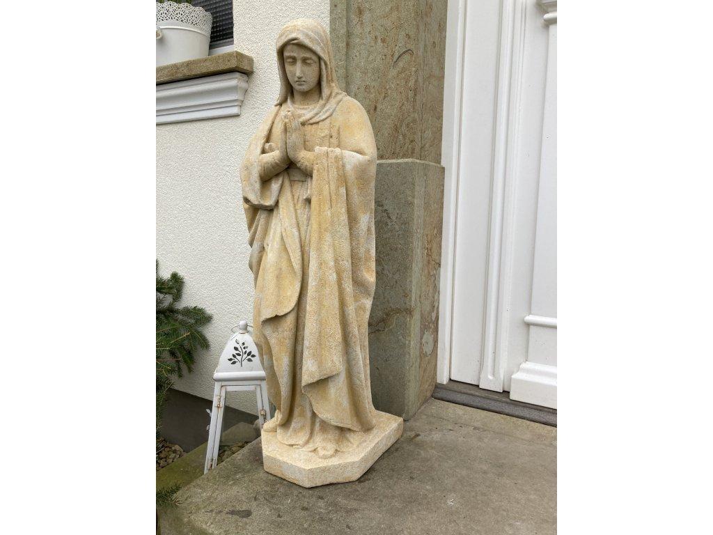 zahradní dekorace - sochy a sošky na zahradu, Panna Maria  39kg  T