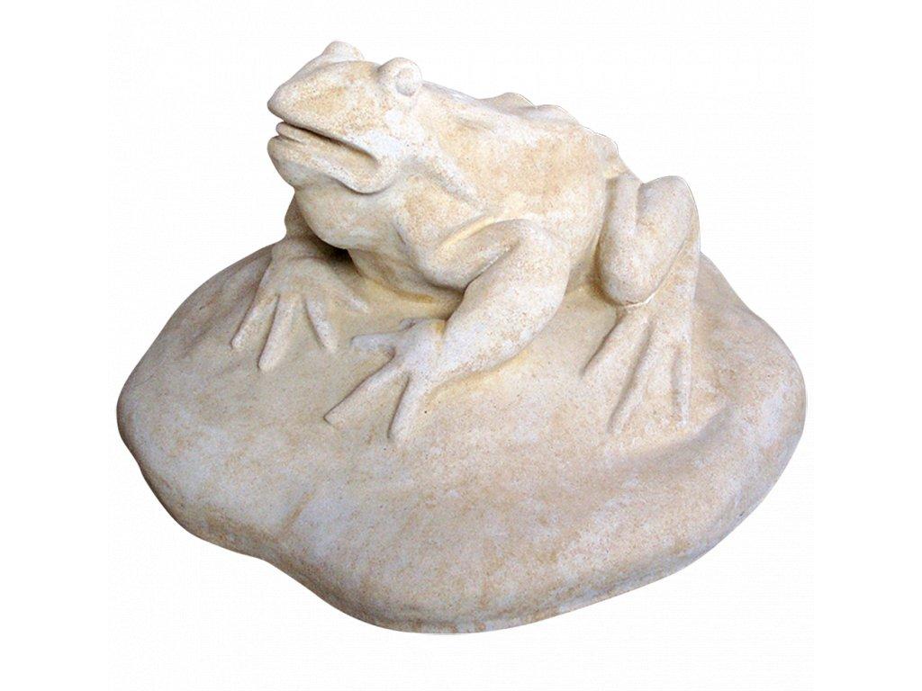 zahradní dekorace zvířat - zahradní sochy zvířat, Žába 70kg  T