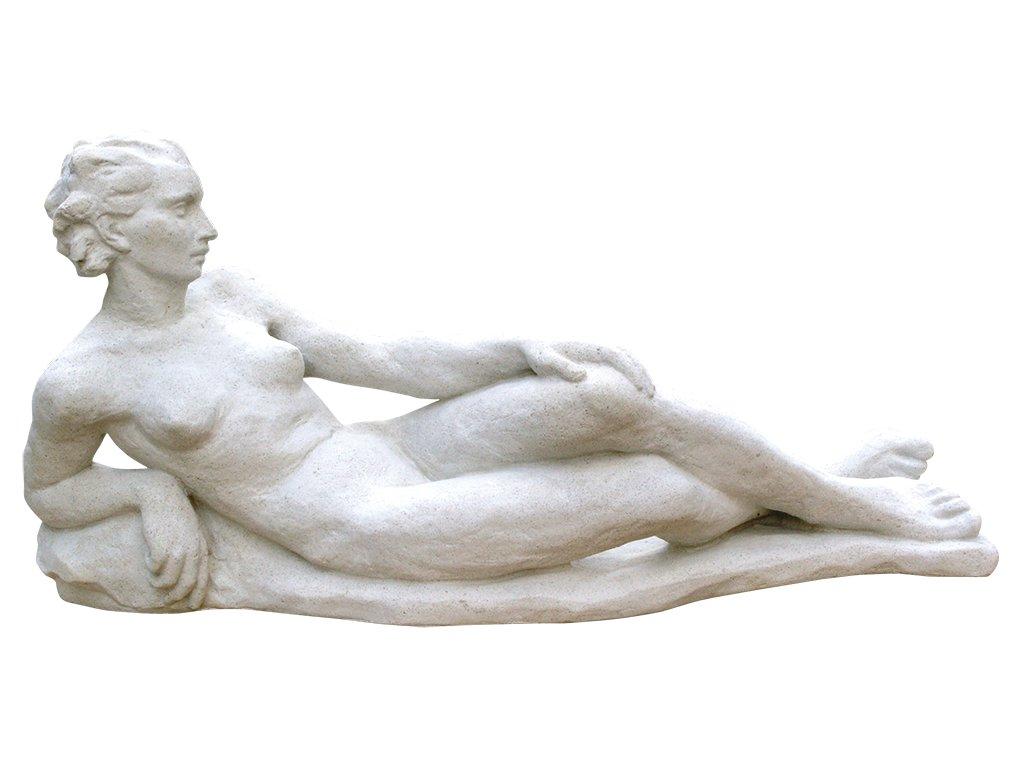 zahradní sochy, Ležící žena 21 kg T