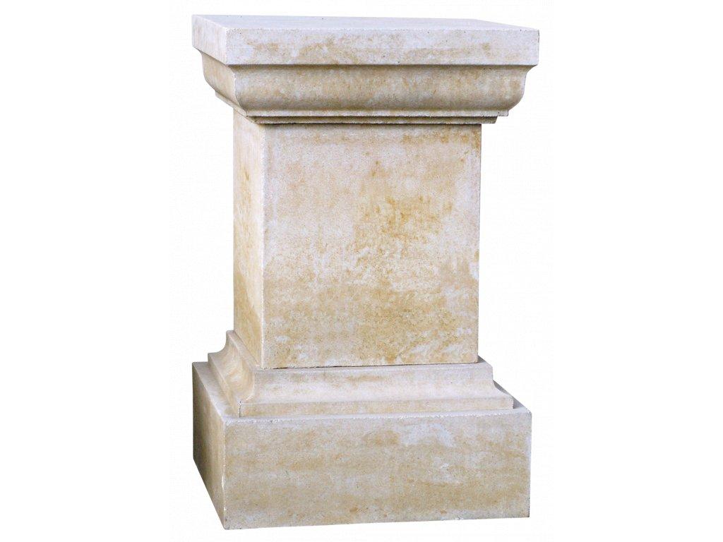 socha, zahradní sochy velké z pískovce, Podstavec hranatý 101 kg  T