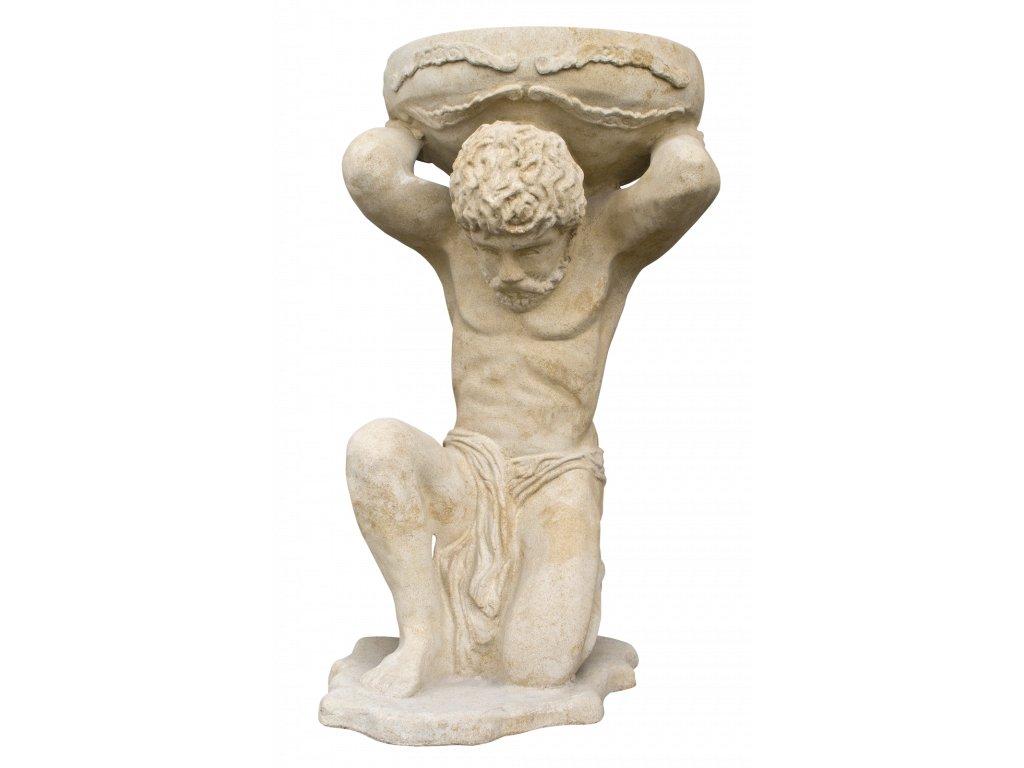 zahradní sochy velké, Atlas 51 kg  T