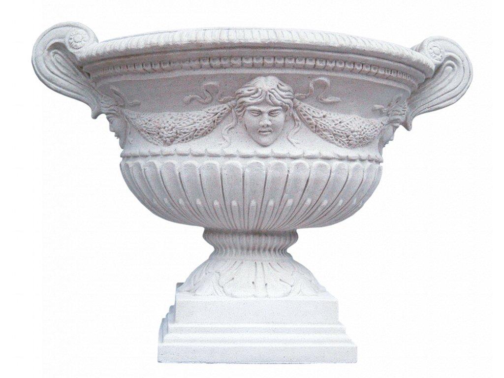 zahradní vázy, Váza s reliéfem 78kg  T