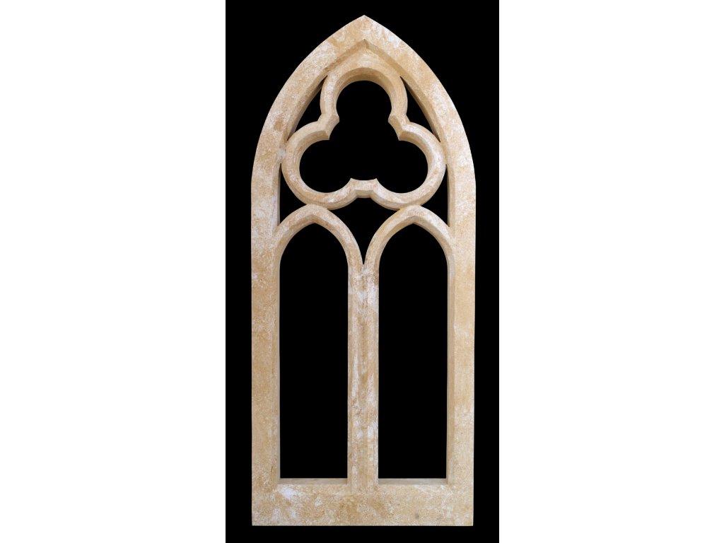 fasádní a stavební prvky, Gotické okno 66 kg  T