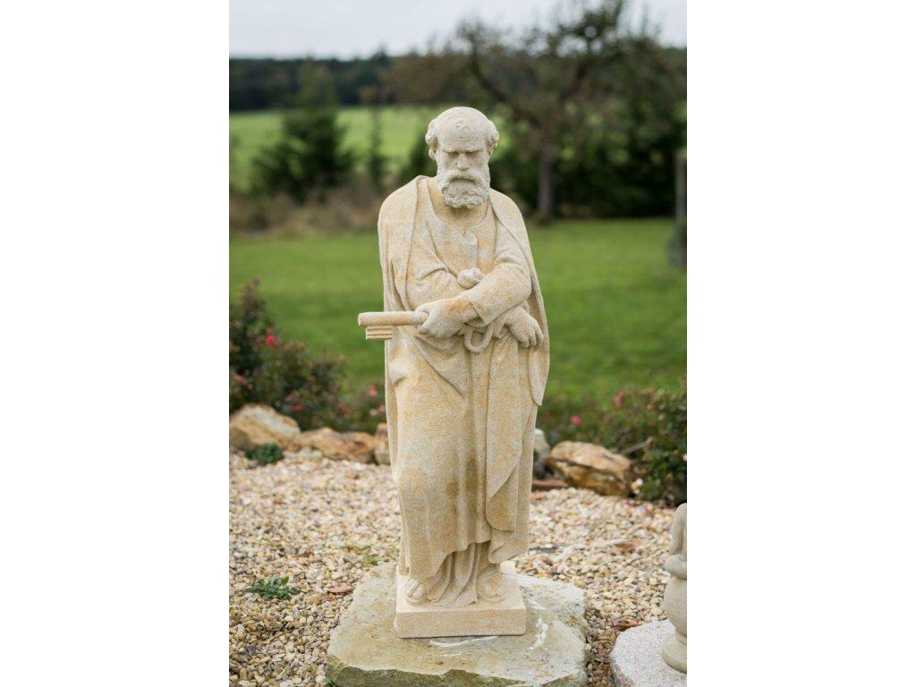 zahradní sochy velké, Svatý Petr (s klíčem)  95 kg  T