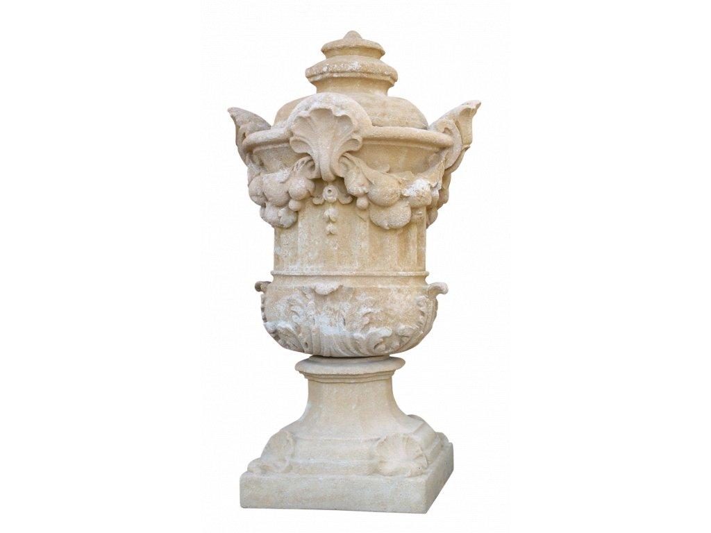 zahradní vázy, Váza s poklopem 145 kg  T