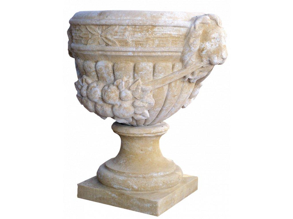 zahradní vázy, Váza - lví hlavy 168kg T
