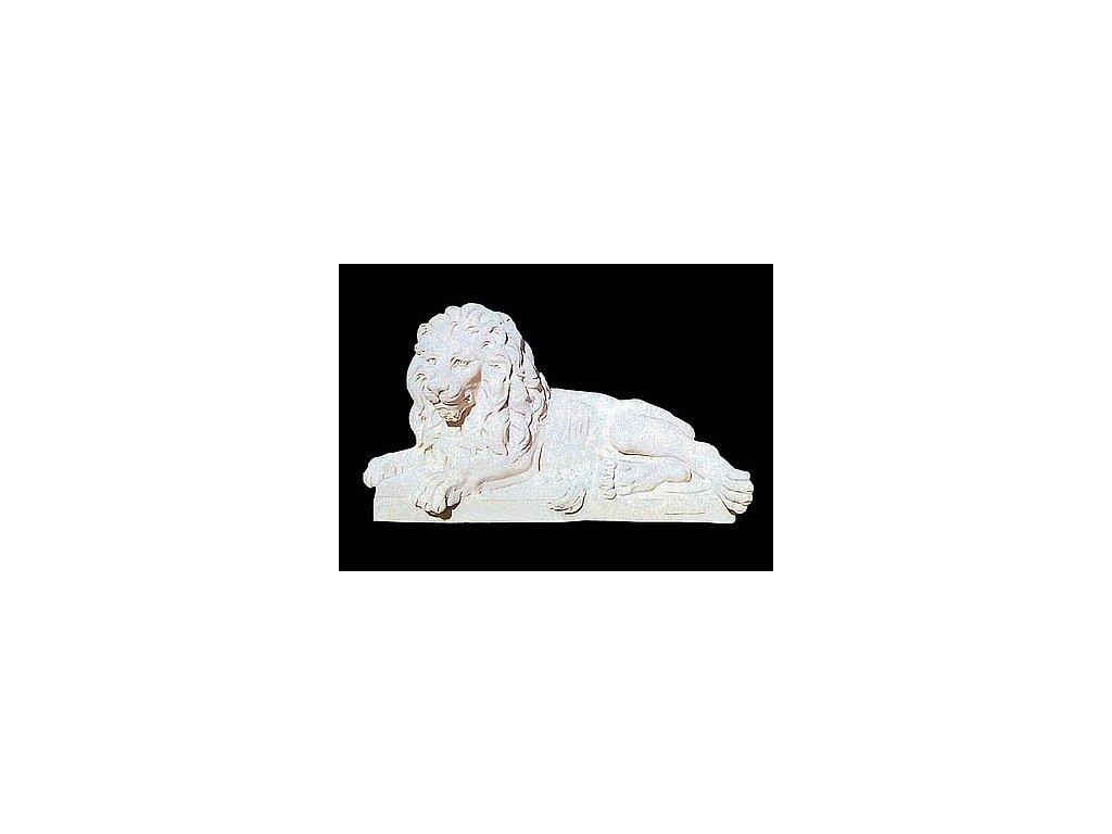 1278 sochy zvirat lev lezici levy 213kg t