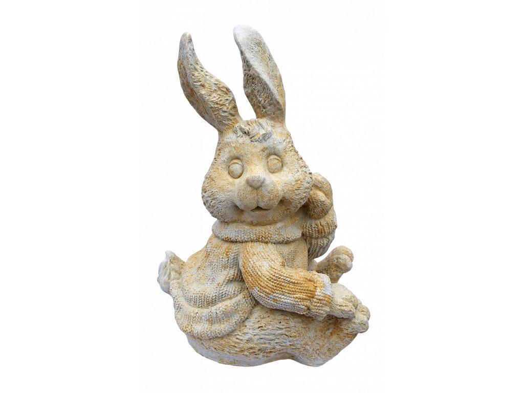 sochy zvířat, Zajíc, 22kg