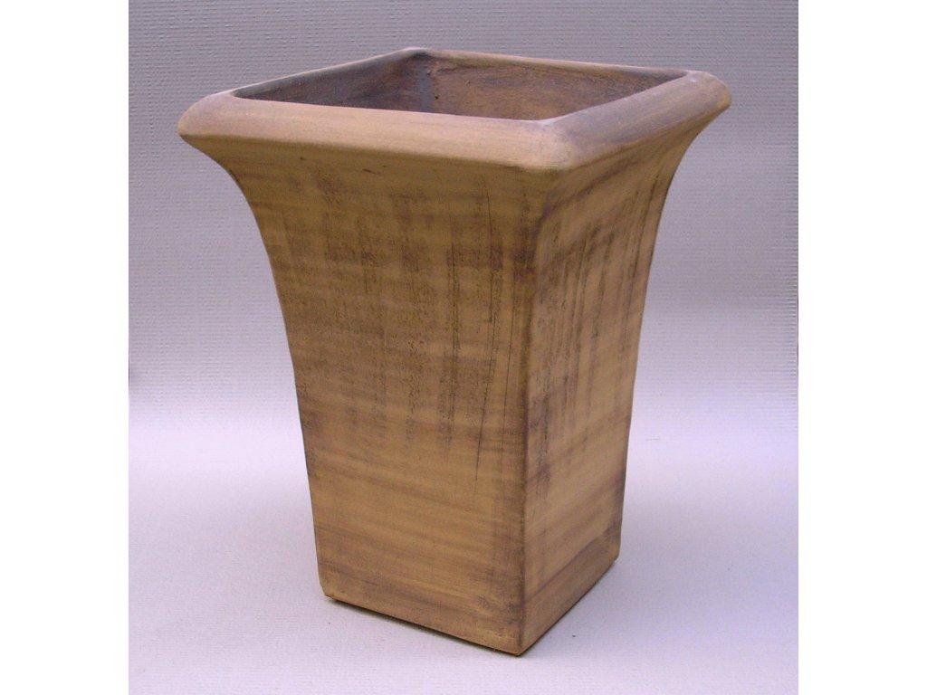 Keramické květináče - váza TOP 400x530 (Odstín-glazura 2.cihlově tmavá-terakota-CT)