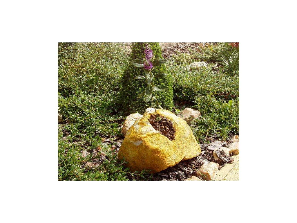 zahradní osazovací kámen NDP0220 20x20x15cm z pískovce