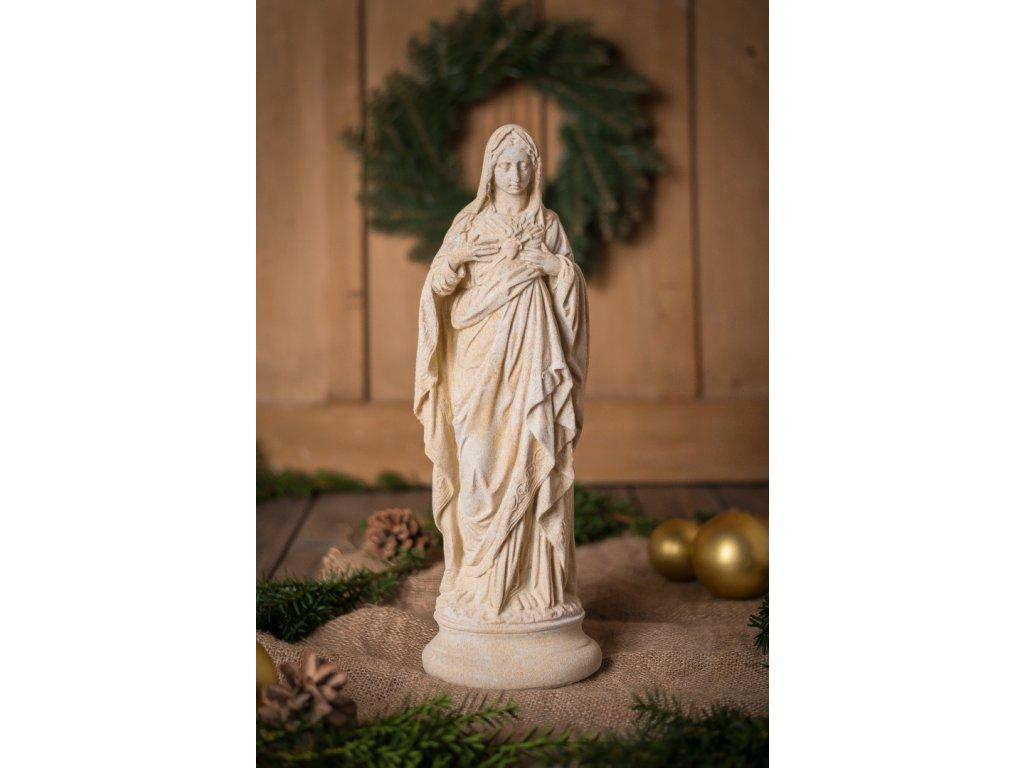 zahradní sochy a dekorace, Madona 4kg  J