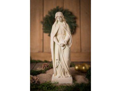krasna kamenna socha madonna jeziskova dilna