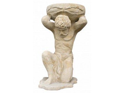 socha, zahradní sochy velké z pískovce, Atlas 51 kg  T