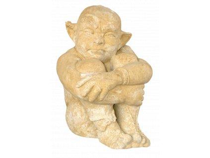 socha, zahradní sochy, soška Troll 34kg